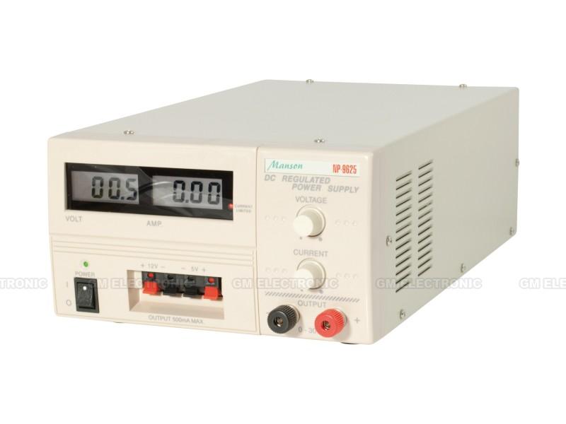 Laboratorní zdroj MANSON NP-9625-000G