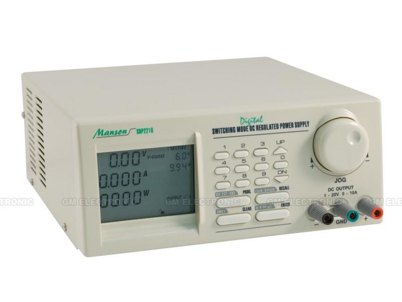 Laboratorní zdroj MANSON SDP-2210