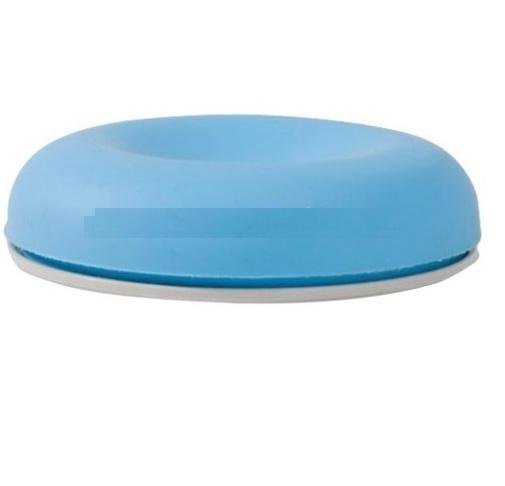 Podložka k myši pod zápěstí jezdící modrá PUK