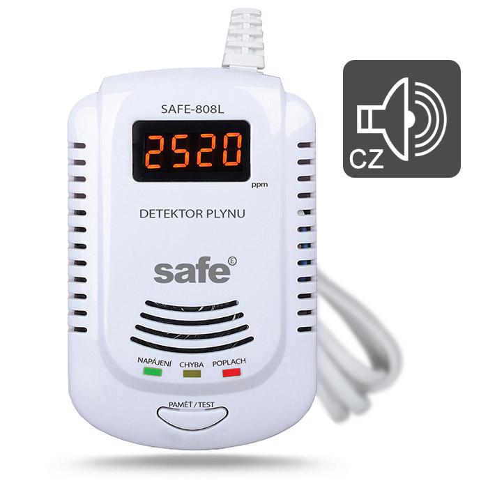 Detektor zemního plynu SAFE-808L