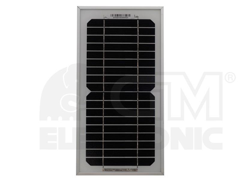 Fotovoltaický solární panel SFM05W 9V/0,56A