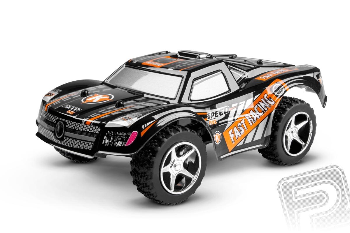 Micro car 2.4 GHz - Short Course - černá