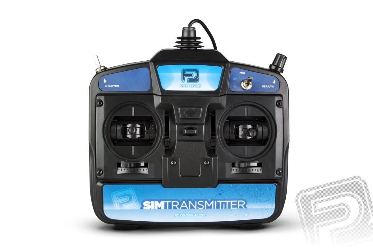 SIMtransmitter 6CH - USB ovladač k PC mode 2 *IHNED SKLADEM *