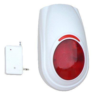 Siréna bezdrátová externí pro GSM alarm typ HG-S02