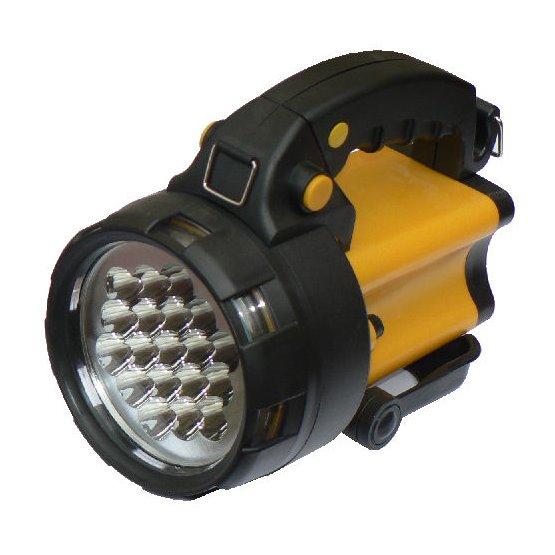 LED akumulátorová svítilna nabíjecí Hutermann HLL-19