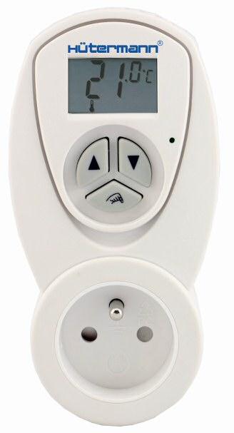 TZ63 zásuvkový elektronický termostat např. pro koupelnový radiátor (do zásuvky) *IHNED SKLADEM *