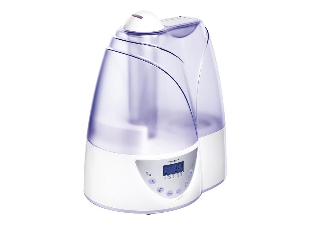 Topcom LF-4718-Ultrazvuk.zvlhčovač vzduchui,displej ,timer,ionizér,alarm,6lvody na 35h provozu