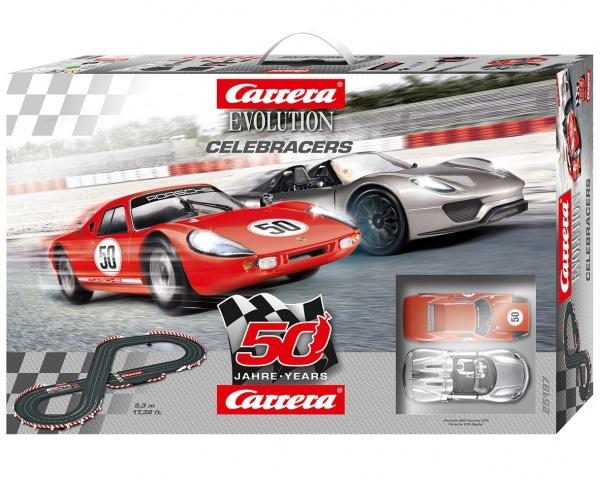 Carrera Celebracers (50.výročí Carrera) 25197 autodráha Evolution