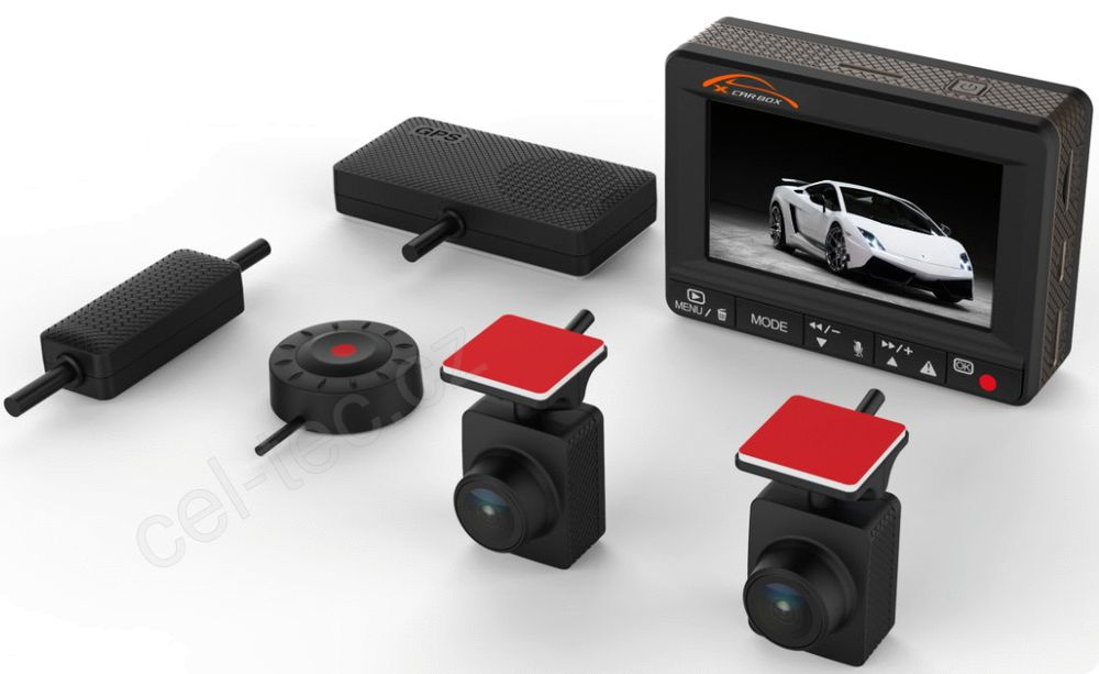 Palubní kamera CEL-TEC K1S - Dual