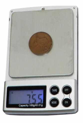 Kapesní digitální váha 100g x 0,01g stříbrná HS-100g *IHNED SKLADEM *